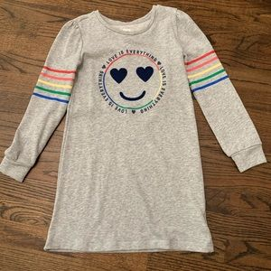 EUC Gap Kids Sweatshirt Dress Size 8 (M)